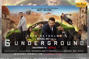 รีวิวภาพยนตร์ใน Netflix :: 6 UNDERGROUND เกรียน บู๊ ระเบิด มันส์