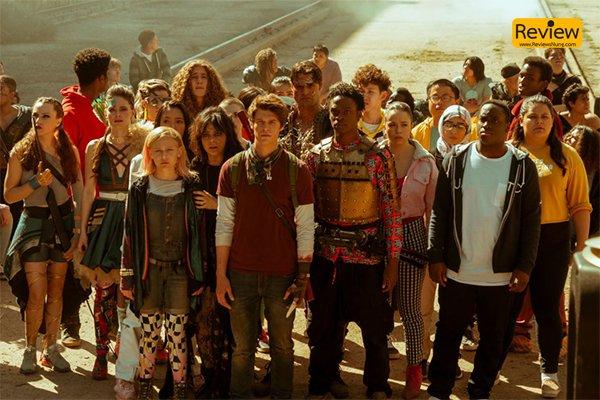 รีวิวซีรี่ย์ Netflix :: Daybreak ตี้ล่าซอมบี้ ผจญภัย รีวิวหนัง Netflix Daybreak