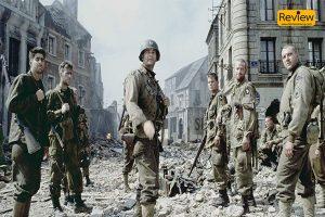 Saving Private Ryan ภาพยนตร์สงครามโลกครั้งที่สองที่ดีที่สุดตลอดกาล