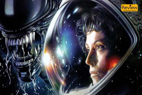 Alien ภาพยนตร์แนวไซไฟสยองขวัญในตำนานกว่า 42 ปี รีวิวหนัง รีวิวหนังสยองขวัญ หนังไซไฟ Alien
