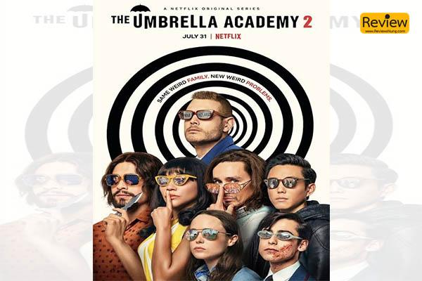 รีวิวซีรี่ย์ The Umbrella Academy รีวิวหนัง รีวิวหนังไทย รีวิวซีรี่ย์ Netflix TheUmbrellaAcademy